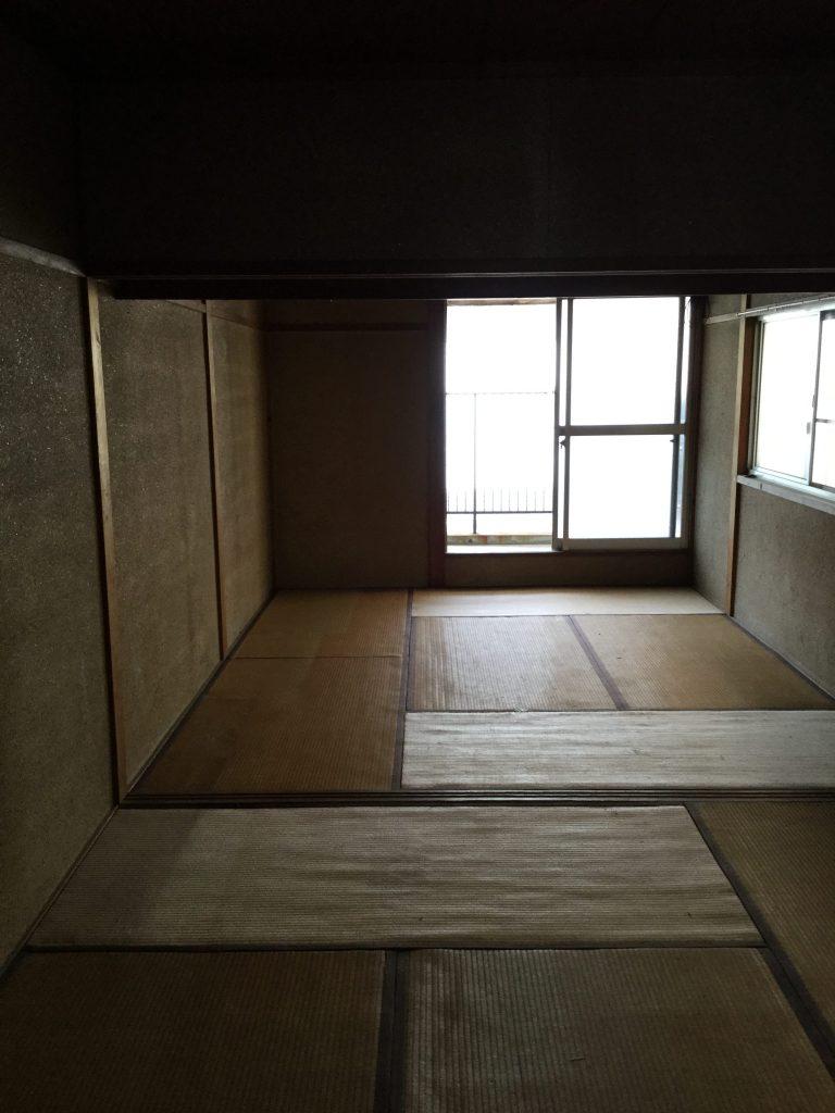 和室→洋室 before